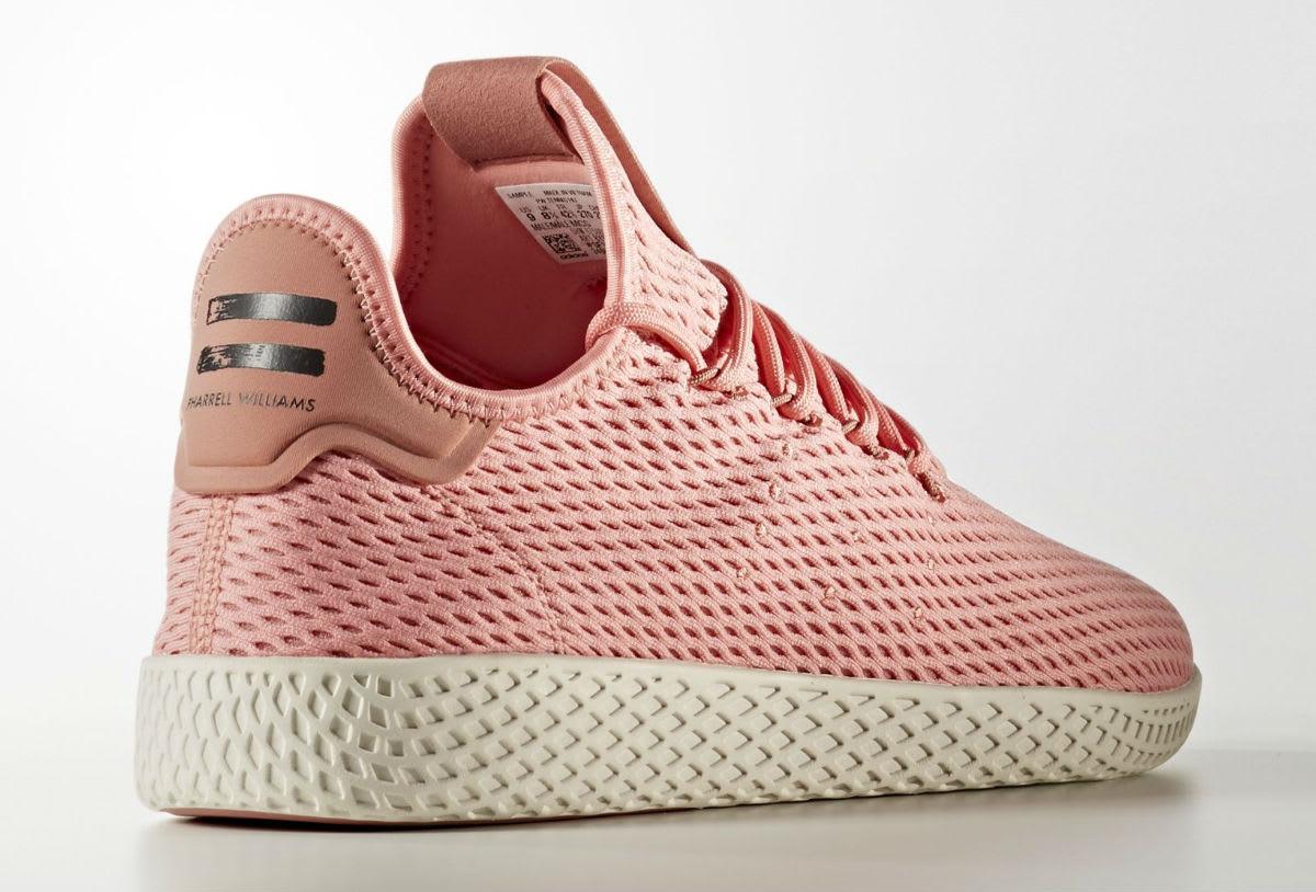 Pharrell x Adidas Tennis Hu Haze Coral Heel
