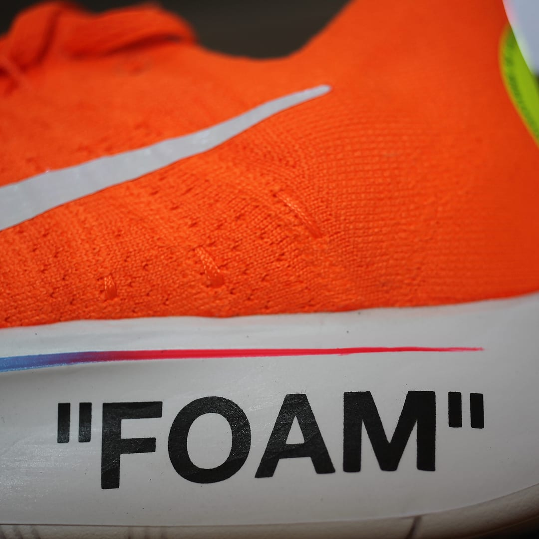 c3d6e61e58c Image via gc911 · Off-White x Nike Zoom Fly Mercurial Flyknit Total Orange  Release Date AO2115-800