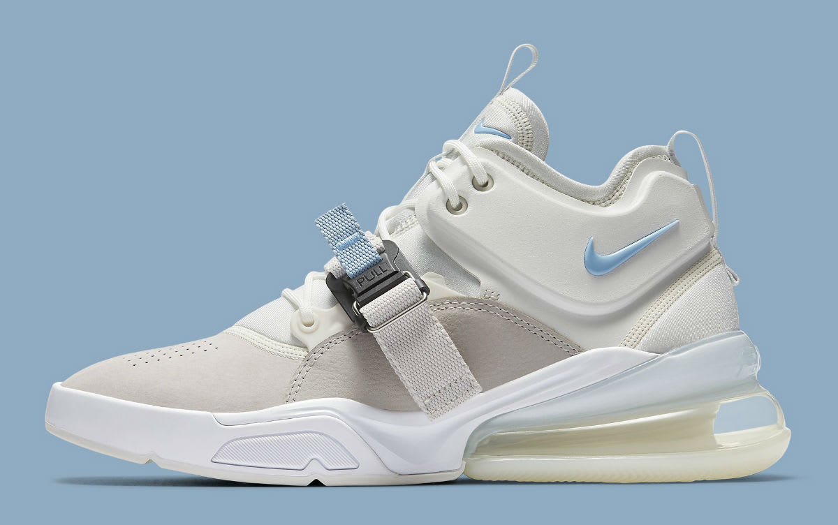 Nike Air Force 270 Wolf Grey White Release Date AH6772-003 Profile
