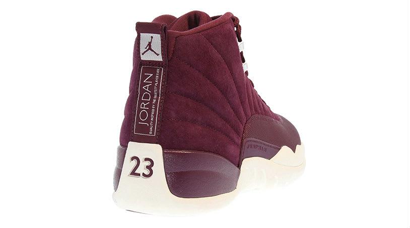 Air Jordan 12 Bordeaux Release Date Back 130690-617
