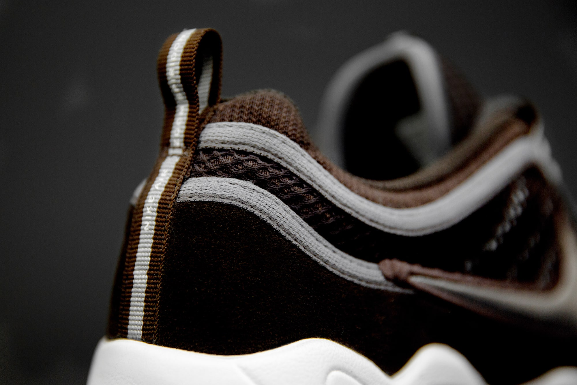 size? exclusive Nike Zoom Spiridon 'Brown' (Heel)