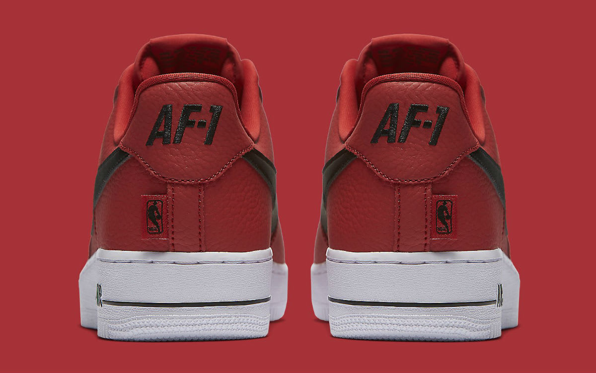 Nike Air Force 1 Low NBA Statement Game Release Date Heel 823511-604
