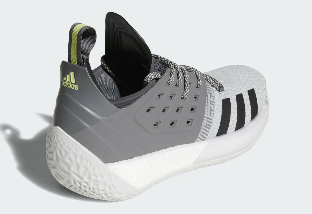 Adidas Harden Vol. 2 Concrete Grey Release Date AH2122 Black
