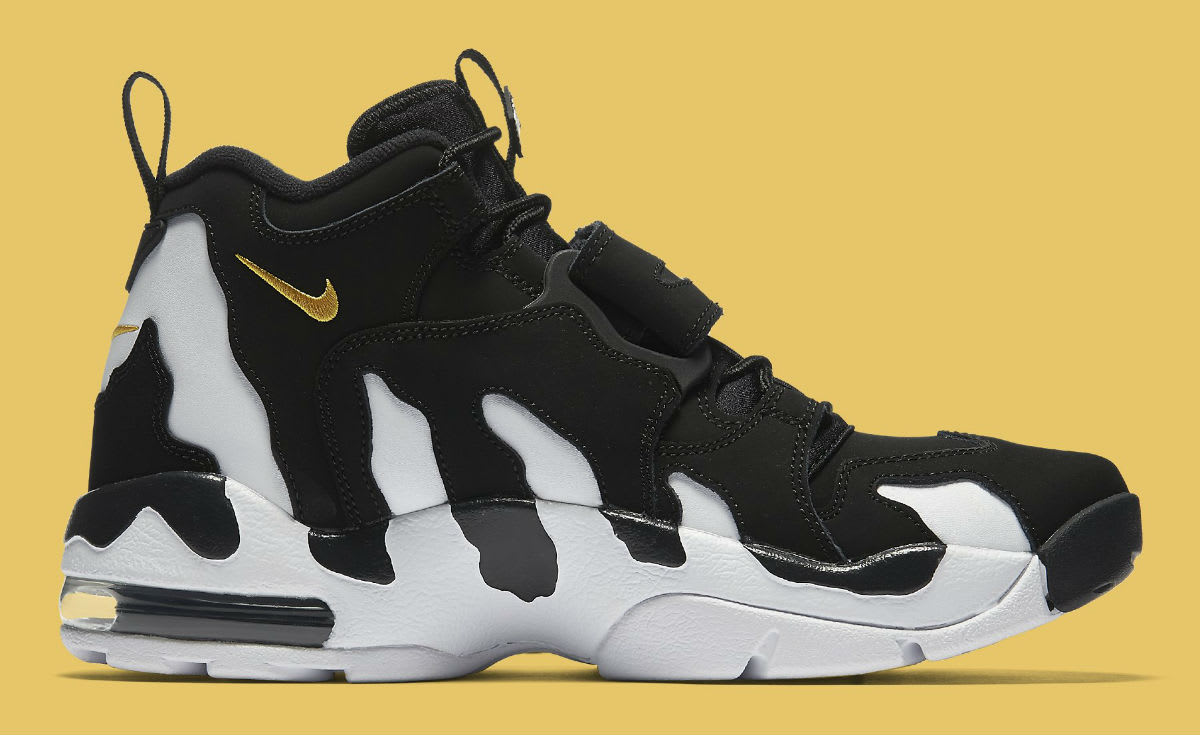 Nike Air DT Max 96 Black White Release Date 316408-003 Medial
