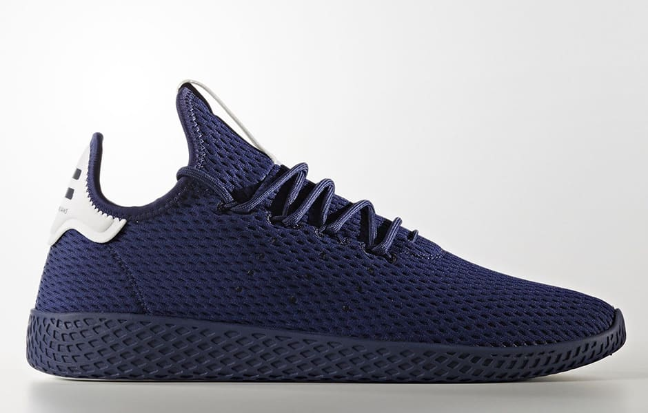 Pharrell x Adidas Tennis HU 'Solids Pack' Dark Blue