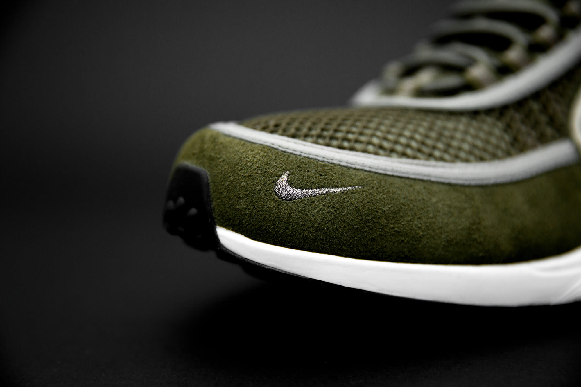 size? exclusive Nike Zoom Spiridon 'Olive' (Toe)