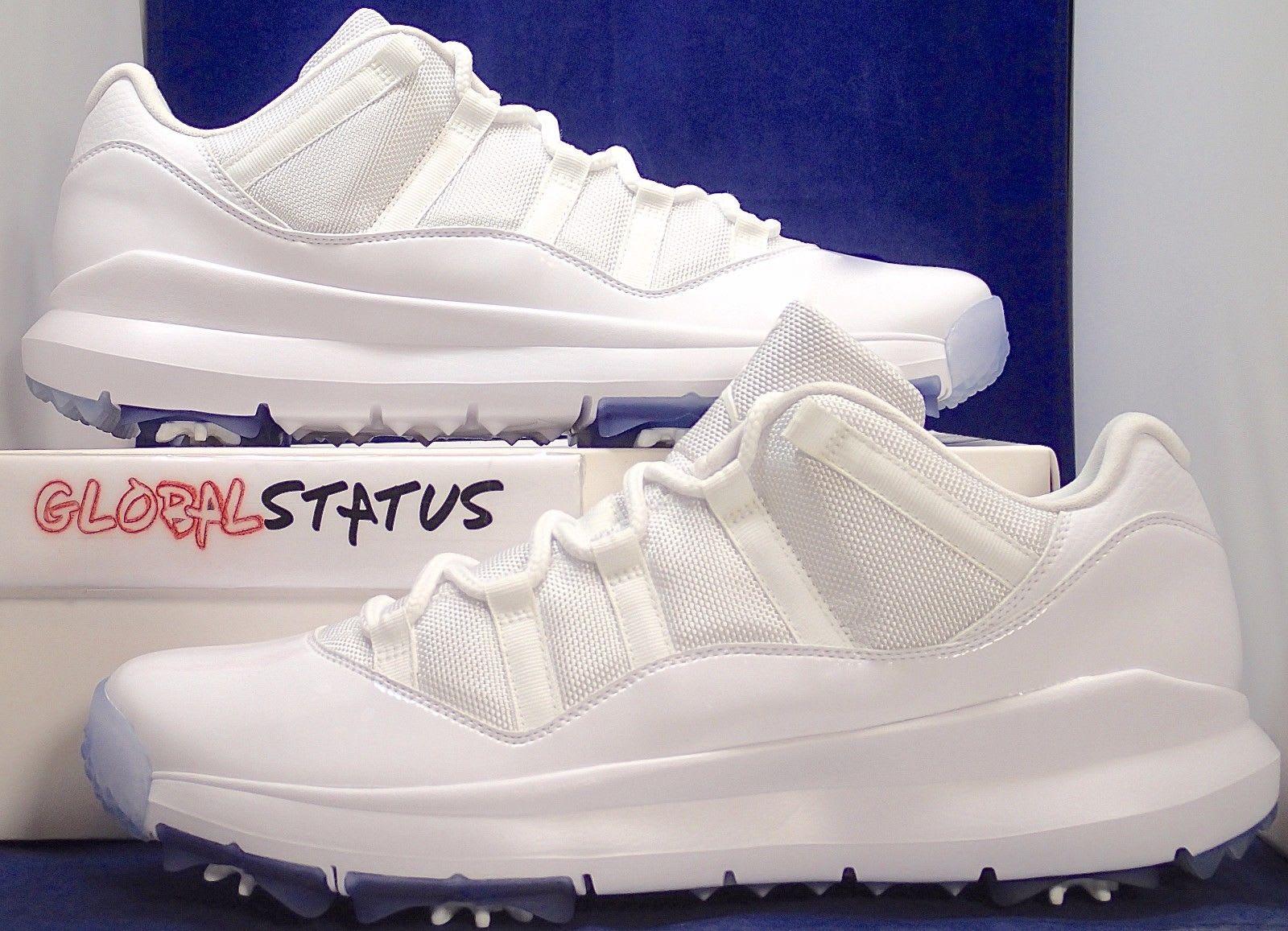 Air Jordan 11 Low White Golf Shoes Michael Jordan PE (3)
