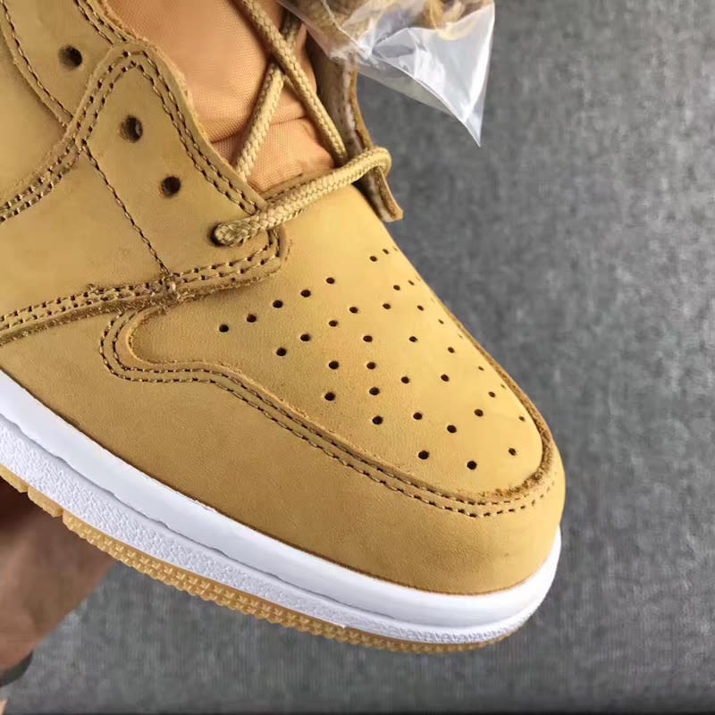 Air Jordan 1 High Golden Harvest Wheat Release Date 555088-710 (6)