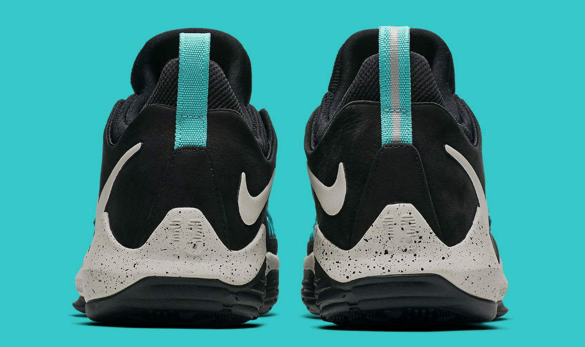 Nike PG 1 Black Light Bone Light Aqua Release Date Heel 878628-002