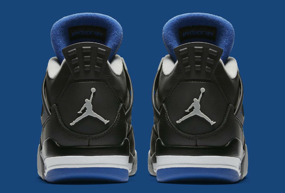 Air Jordan 4 Game Royal Release Date Heel 308497-006