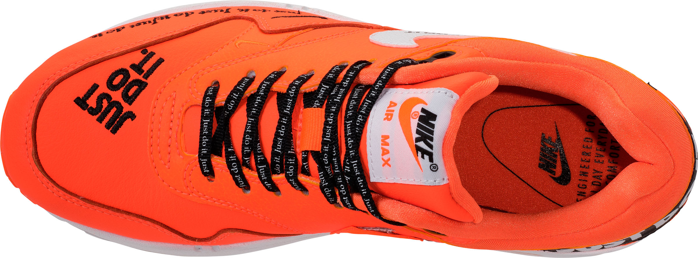 Nike Air Max 1 Just Do It Orange Release Date 917691-800 Top