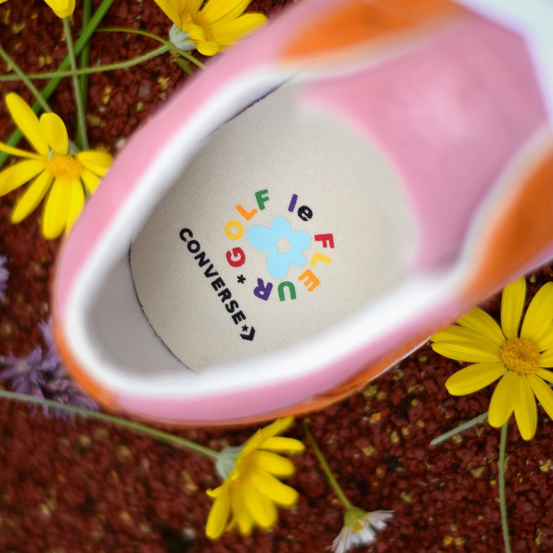 Tyler, the Creator x Converse One Star Golf Le Fleur Release Date Insole