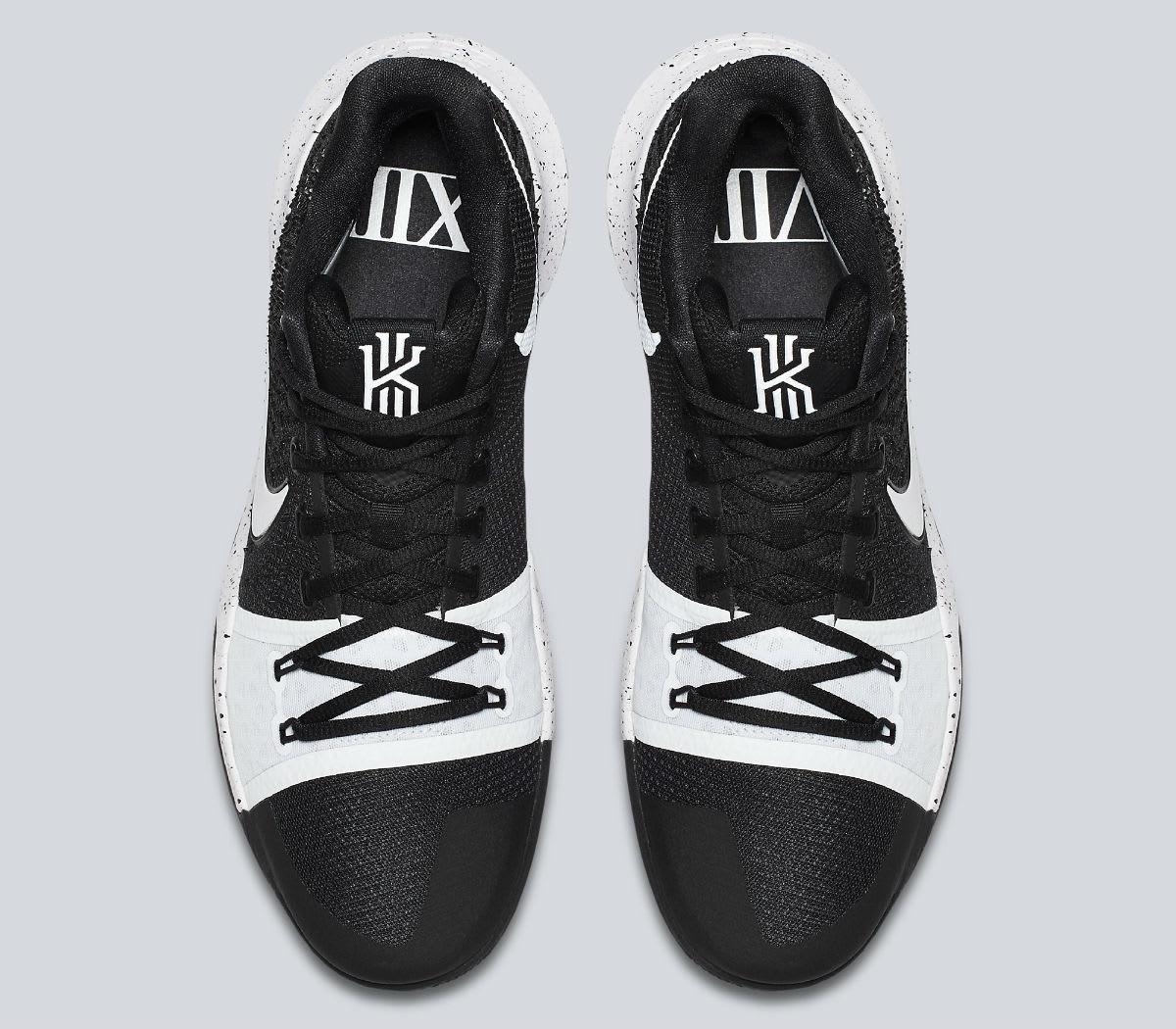 Nike Kyrie 3 Black White Tuxedo Release Date Top 917724-001