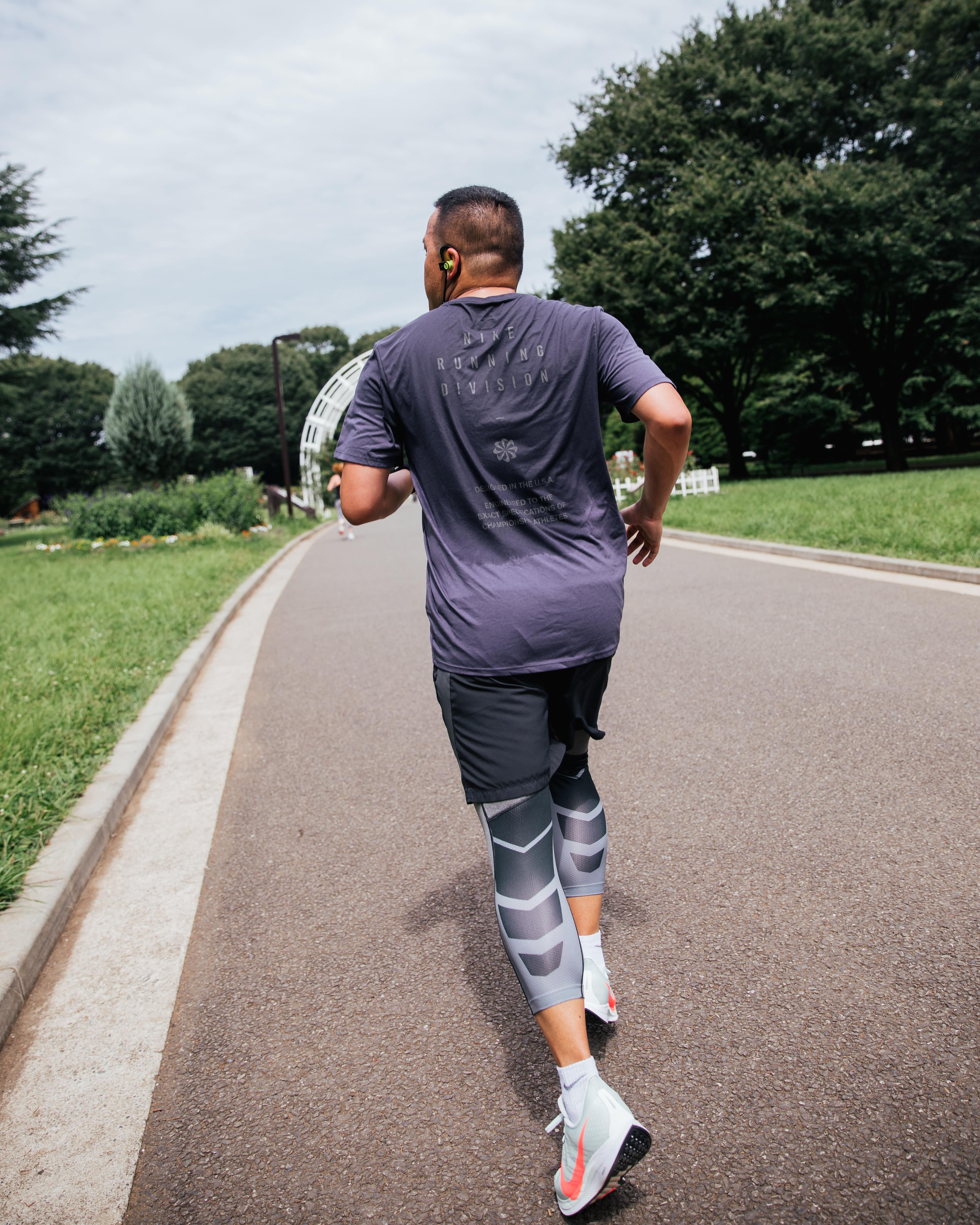Running Nike Pegasus Turbo
