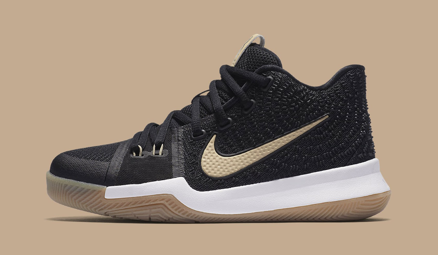 1e1f92770834 ... Black and Gum Light Brown-Linen For Sale. Nike Kyrie 3 No Diving  859466-092 Profile ...
