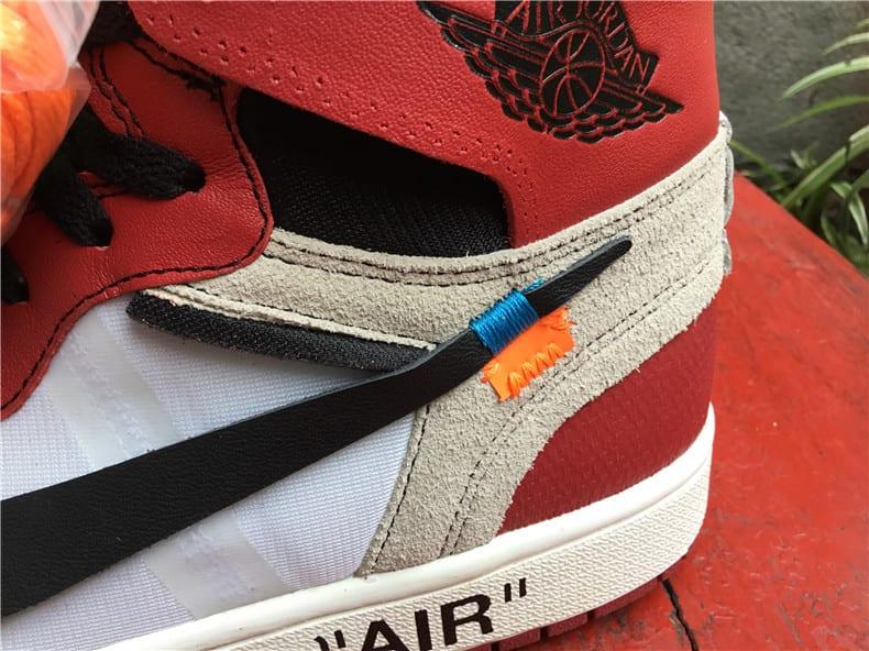 Off-White Air Jordan 1 Release Date Rear Quarter AA3834-101