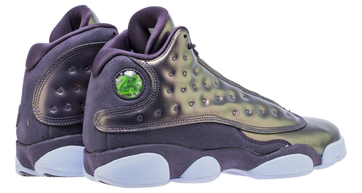 Air Jordan 13 XIII HC Dark Raisin Release Date AA1236-520 Heel