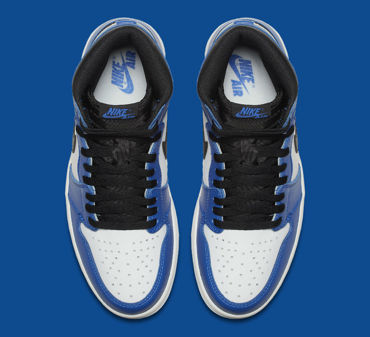 Air Jordan 1 High Game Royal Release Date 555088-403 Top