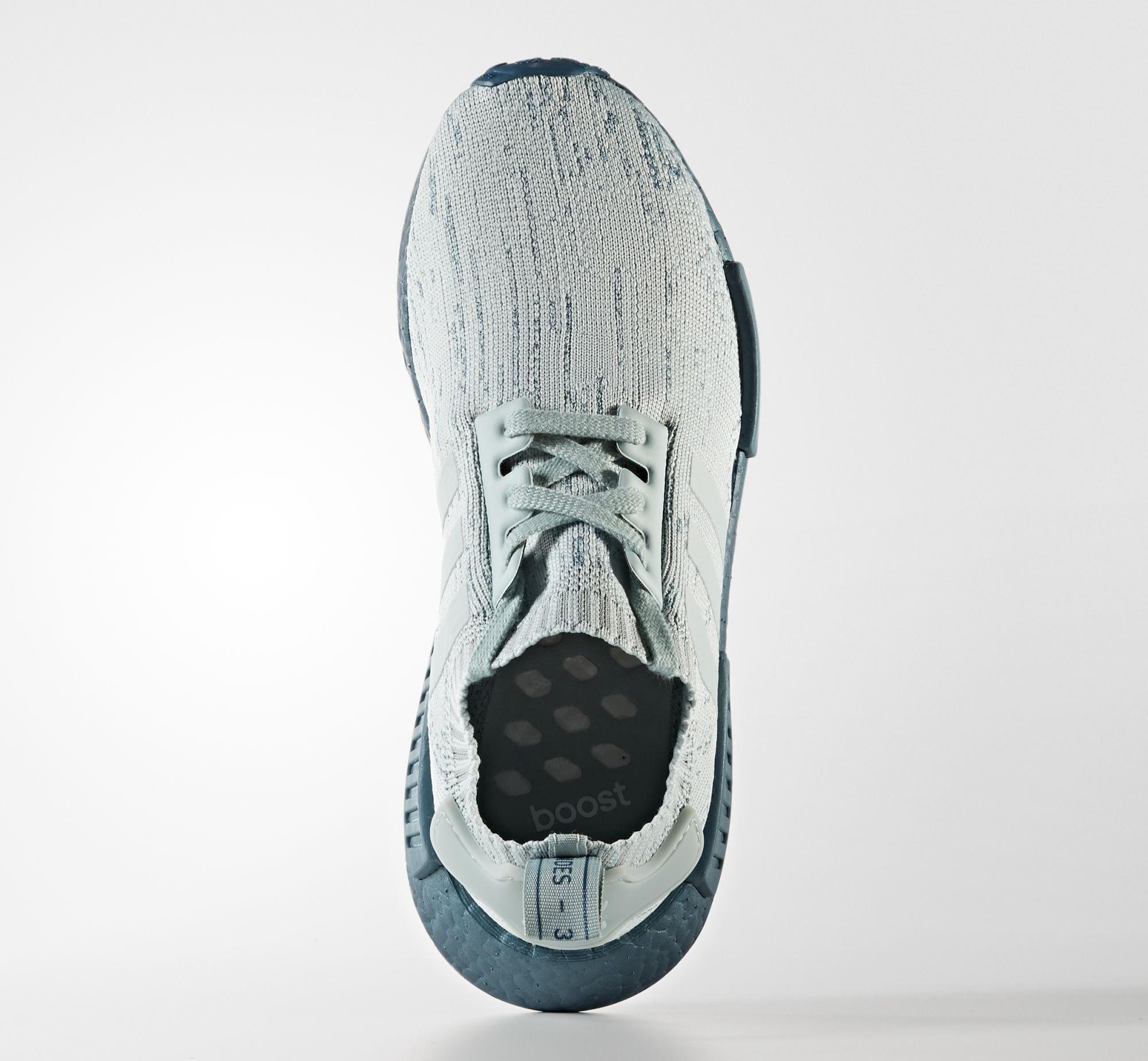 Adidas NMD Blue Grey Glitch Boost CG3601 Top