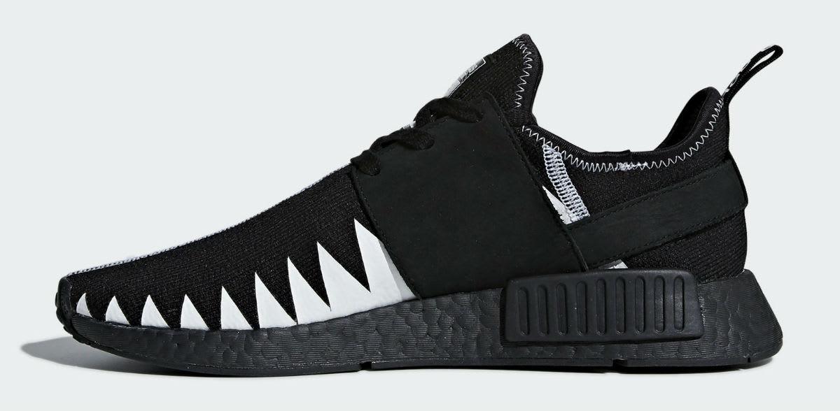 Neighborhood x Adidas NMD R1 Release Date DA8835 Medial