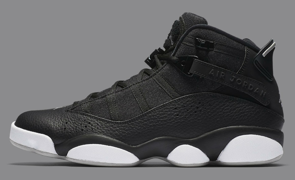 Jordan 6 Rings 2017 Black Silver Release Date Profile 322992-021