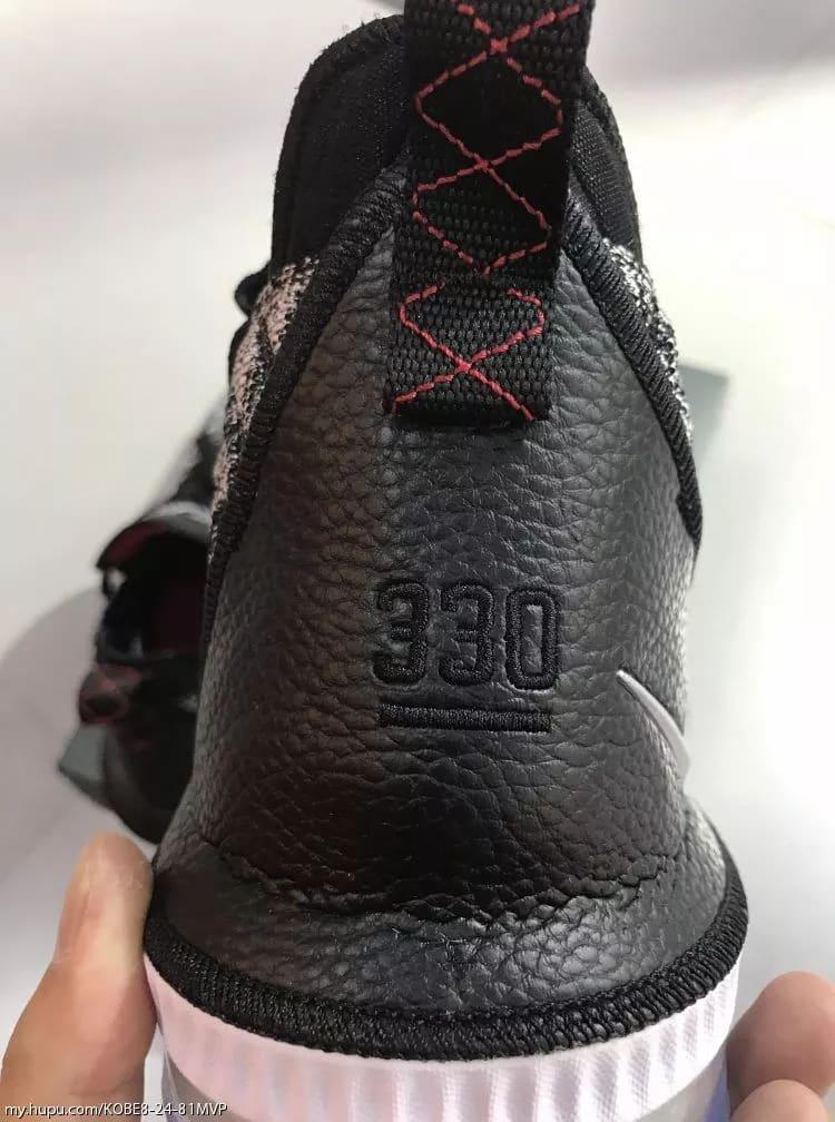 Nike LeBron 16 'Oreo' (Heel 2)
