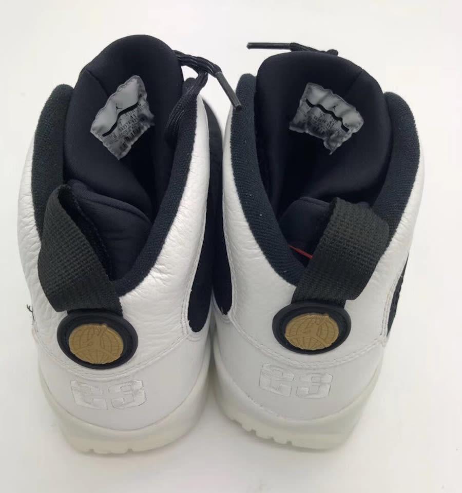 Air Jordan 9 IX Los Angeles All-Star Release Date Heel 302370-021