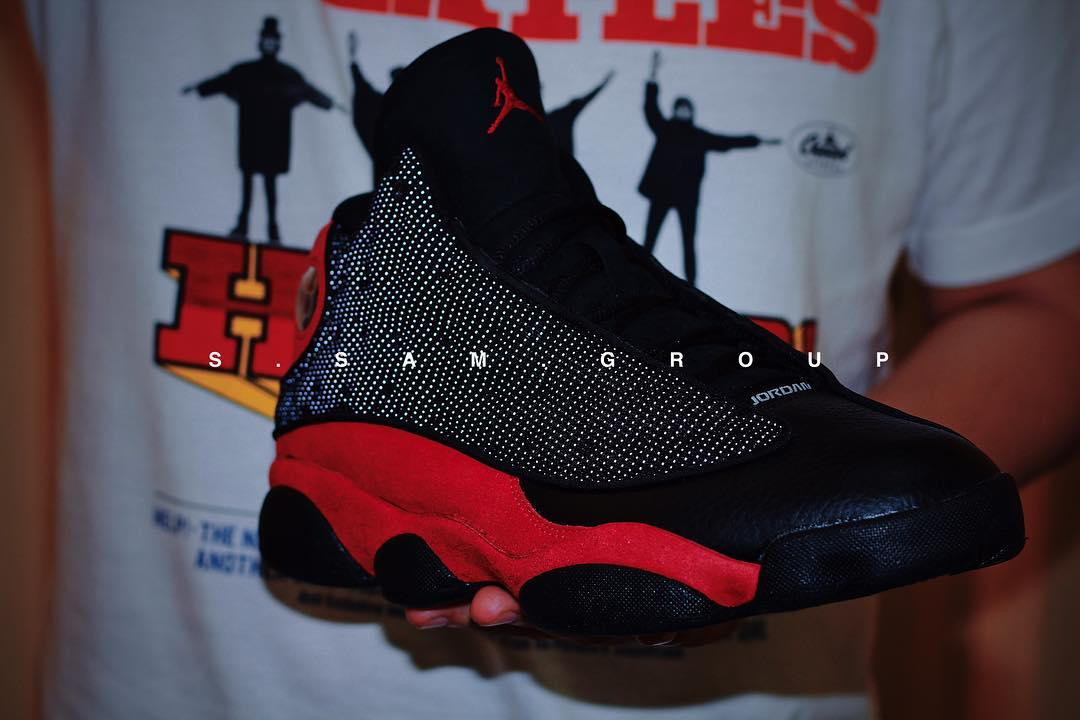 Air Jordan 13 XIII Bred 2017 Release Date Front 414571-004