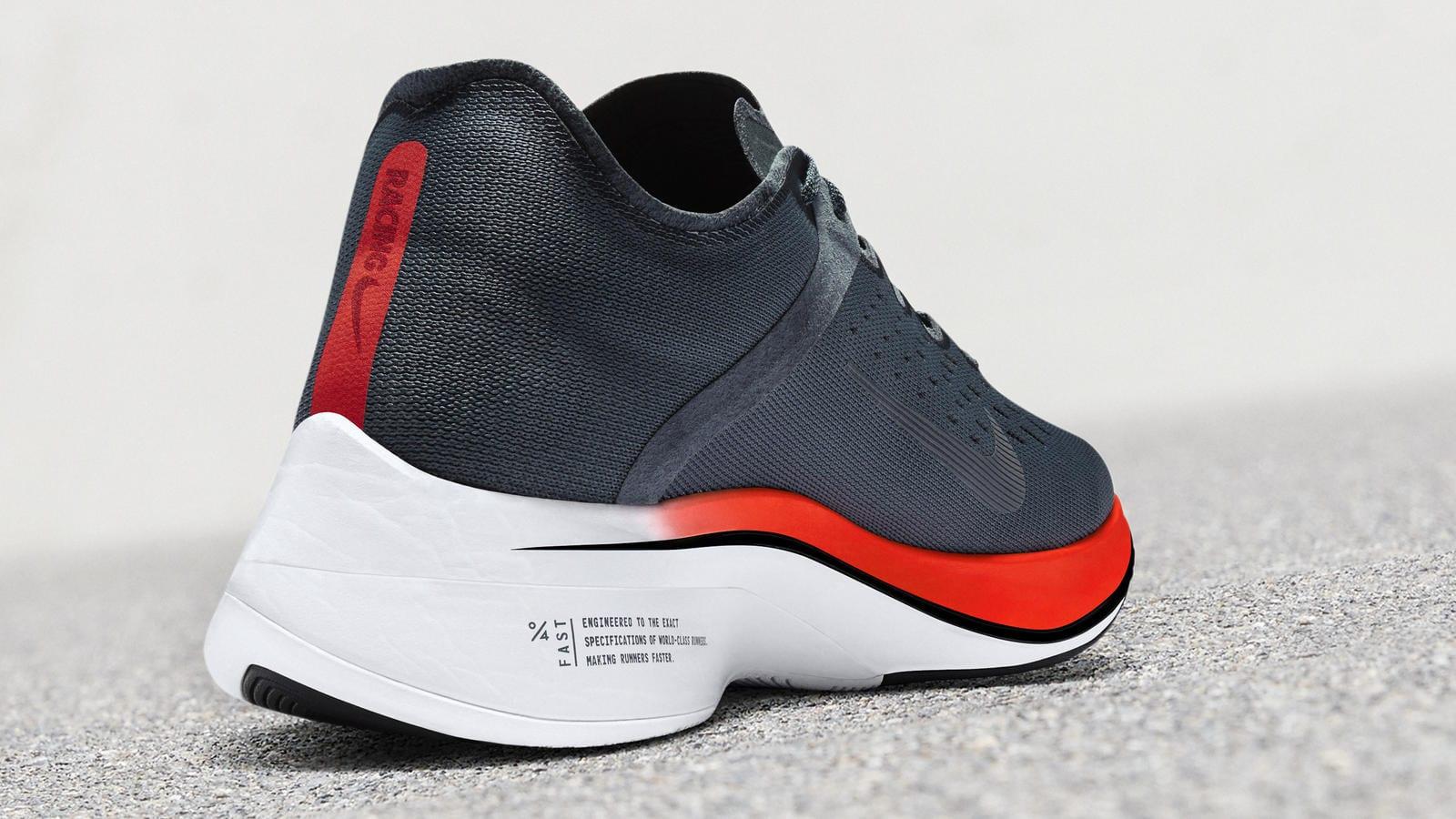 Nike Vaporfly Blue Fox Heel