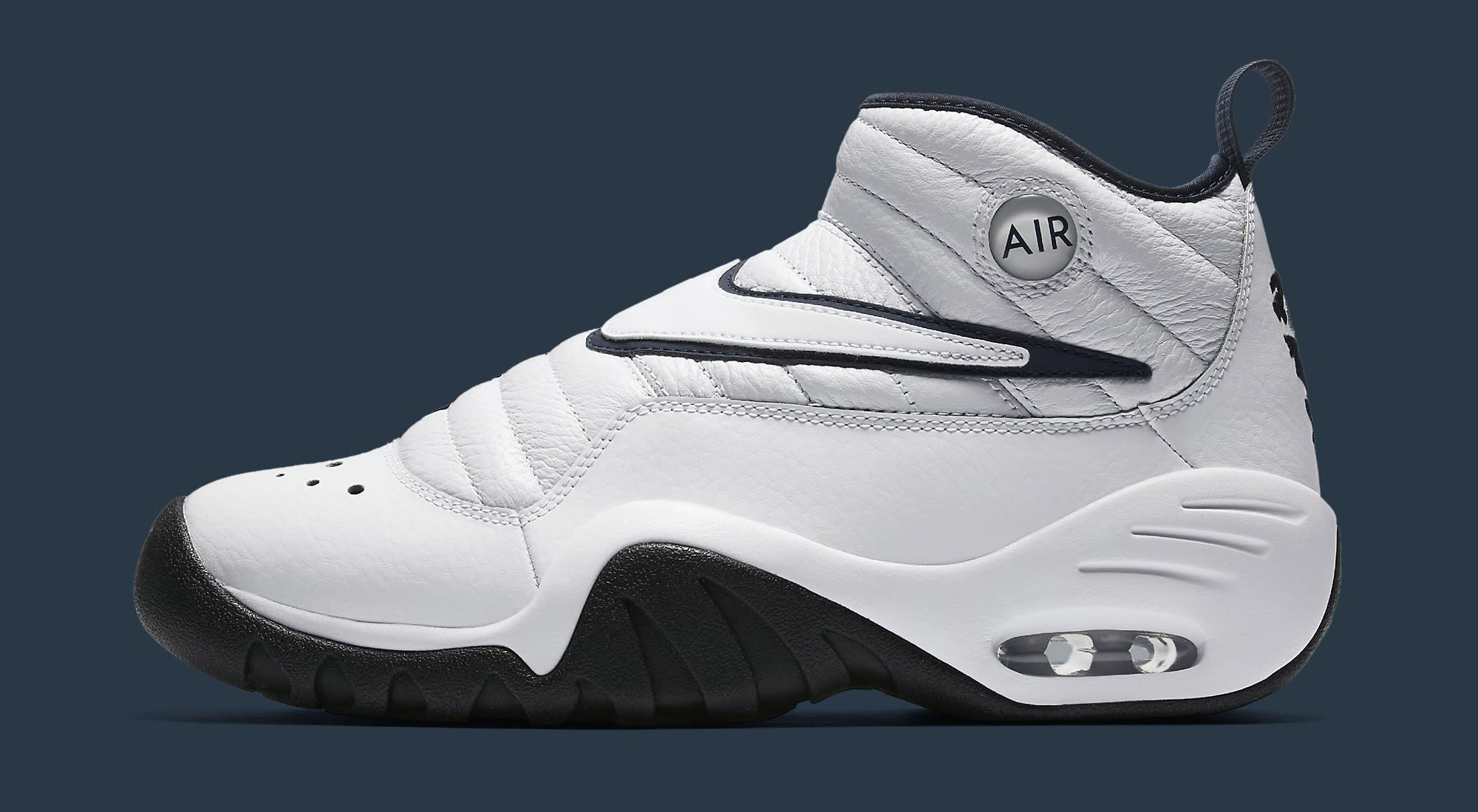 Nike Air Shake Ndestrukt 880869-102 White Navy Profile