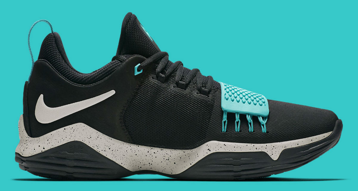 Nike PG 1 Black Light Bone Light Aqua Release Date Medial 878628-002