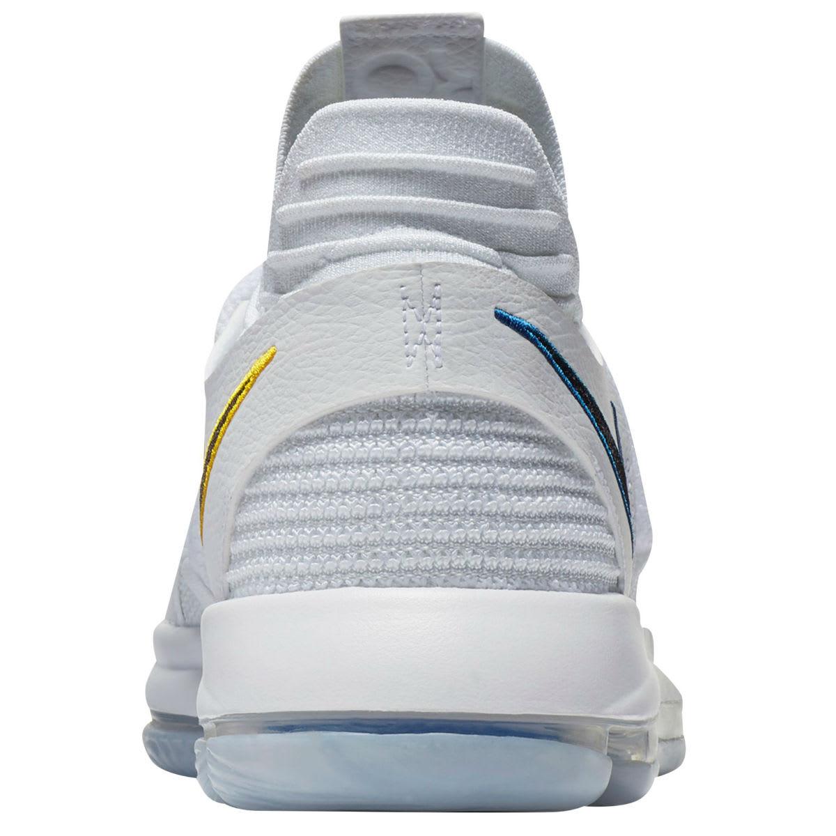 Nike KD 10 Opening Night Release Date Heel 897815-101
