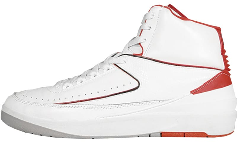 Air Jordan 2 Low White Red