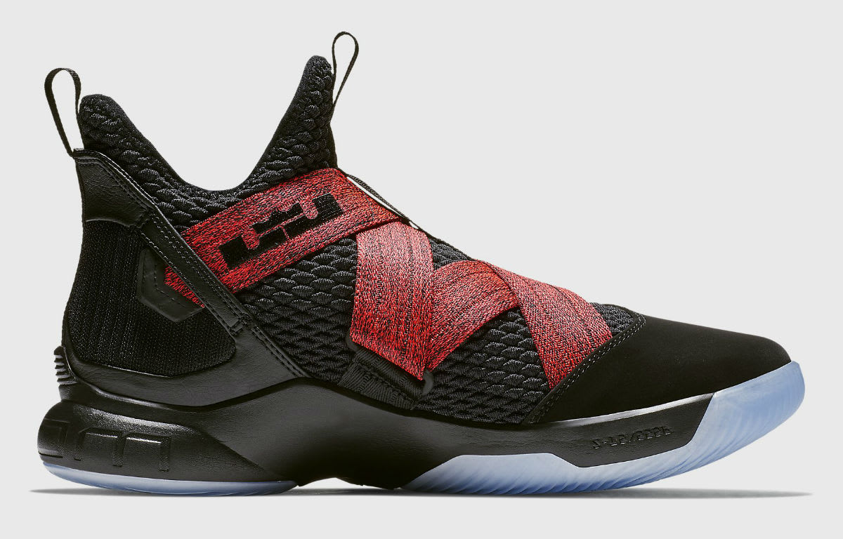 reputable site 8279b e497c ... czech image via nike nike lebron soldier 12 xii bred release date  ao2609 003 medial c3ad5