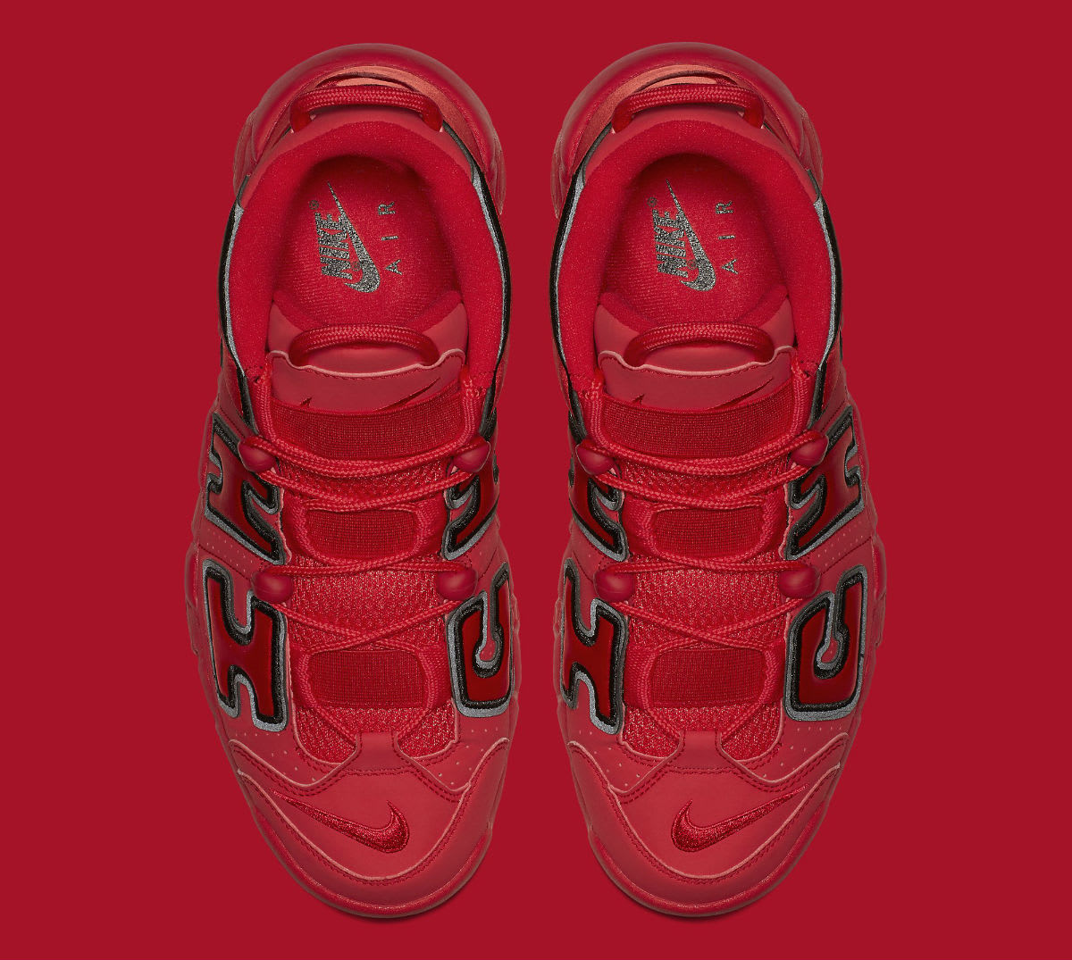 Nike Air More Uptempo QS Chicago Red Release Date Top AJ3138_600