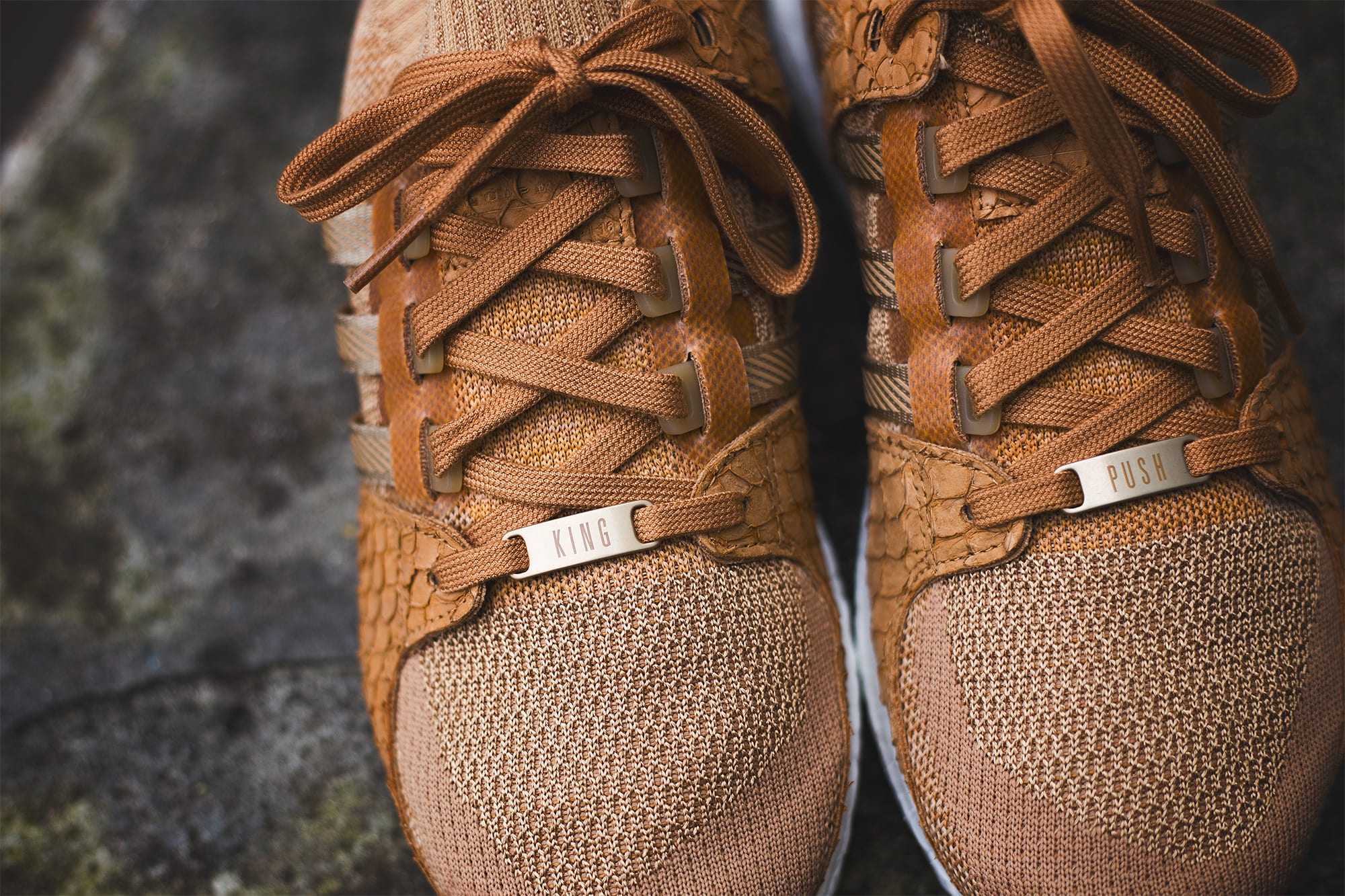 Pusha T x Adidas EQT Support Ultra Brown Paper Bag Release Date Toe
