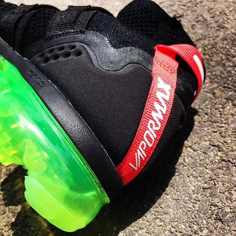 Nike Air VaporMax Utility Black Volt Release Date Heel