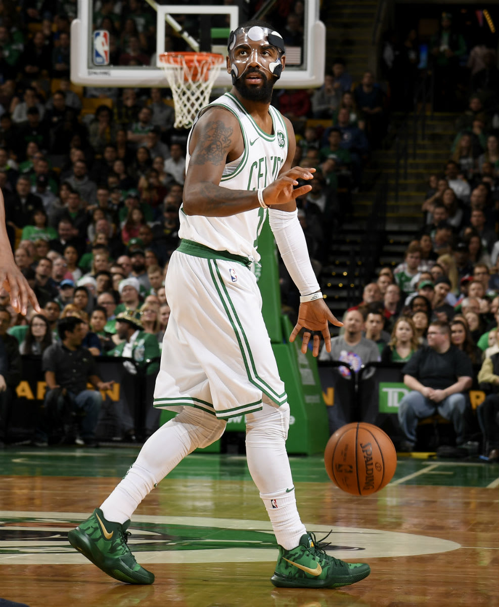 Kyrie Irving Nike Kyrie 3 Green Camo Best Buddies PE