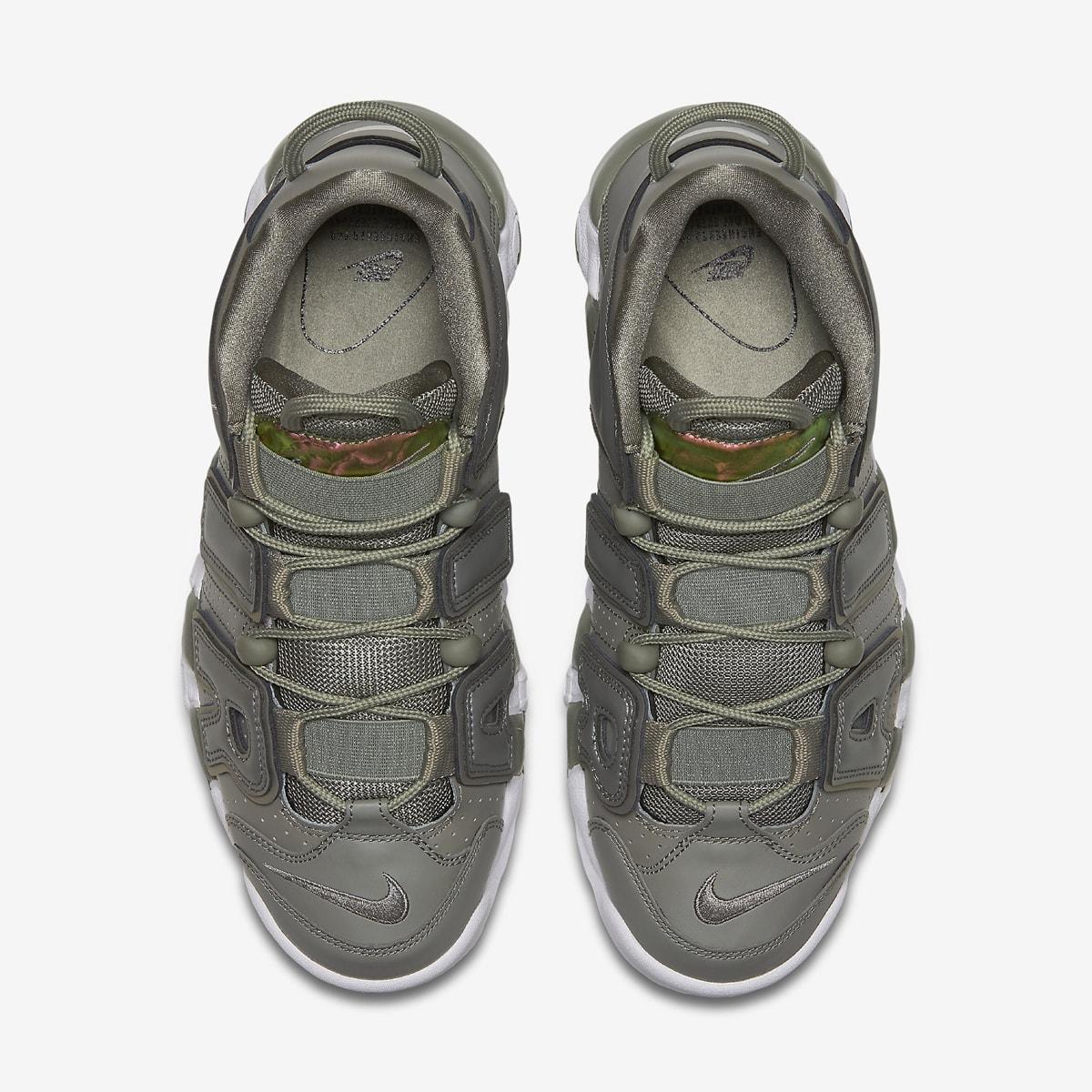 Nike Air More Uptempo Womens Dark Stucco 917593-001 Top