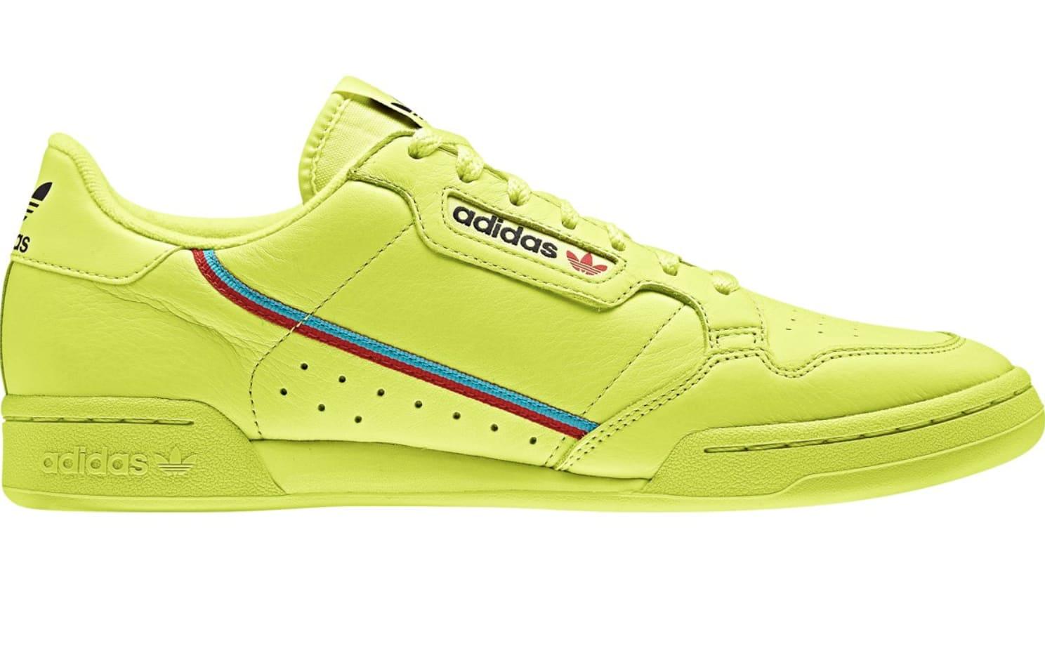 Adidas Rascal 'Semi Frozen Yellow' (Lateral)