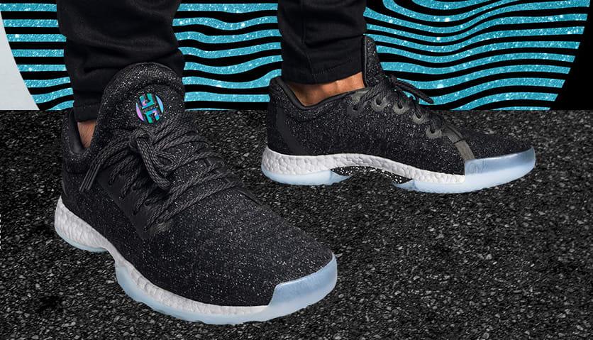 Adidas Harden LS Night Life On Feet