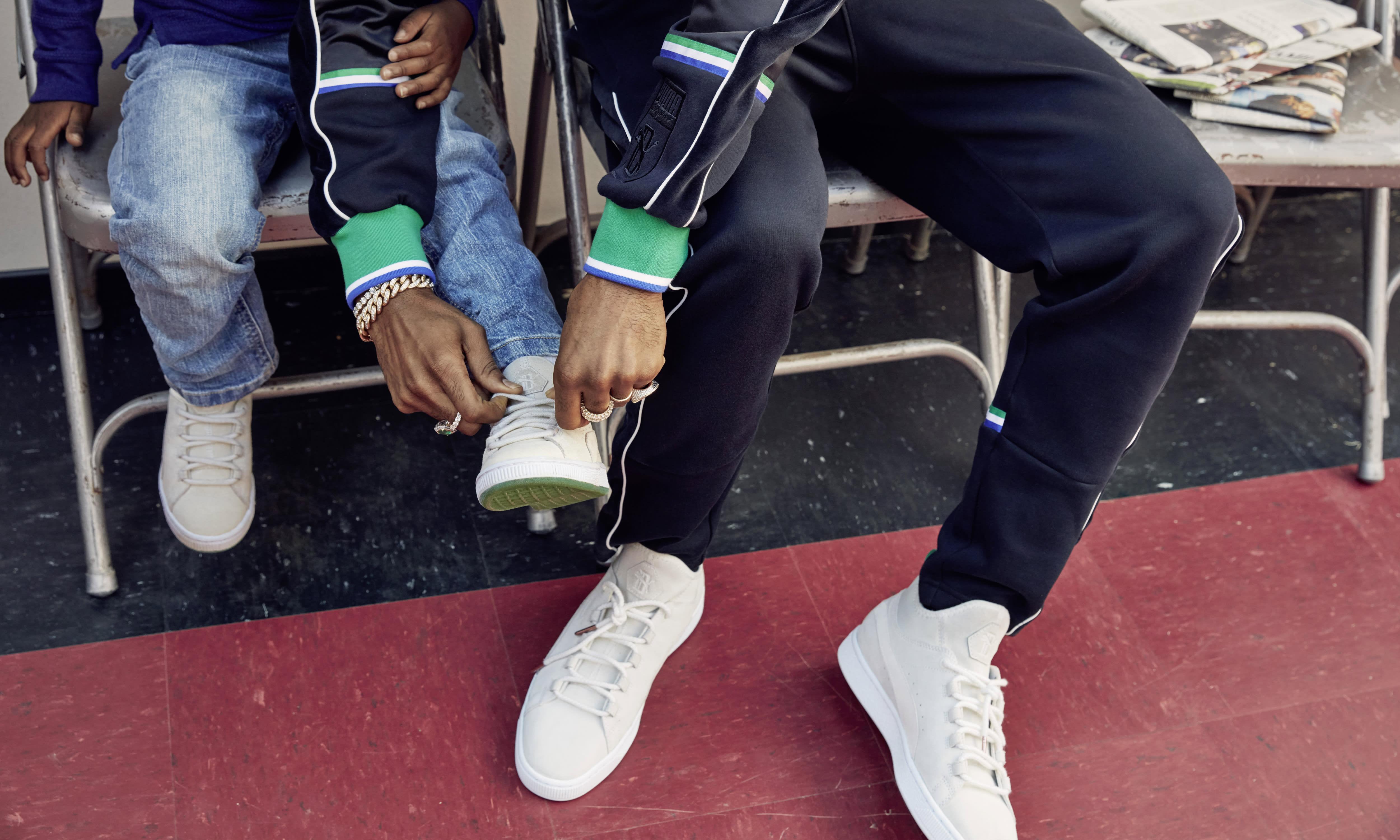 Big Sean x Puma Suede 50 (On-Feet)