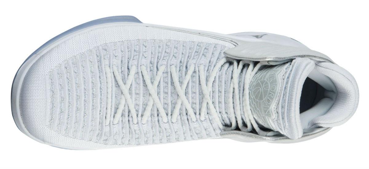 d5c4d4b85086d9 Air Jordan XXXII PF Pure Platinum Hyper Royal Men s Basketball Shoes