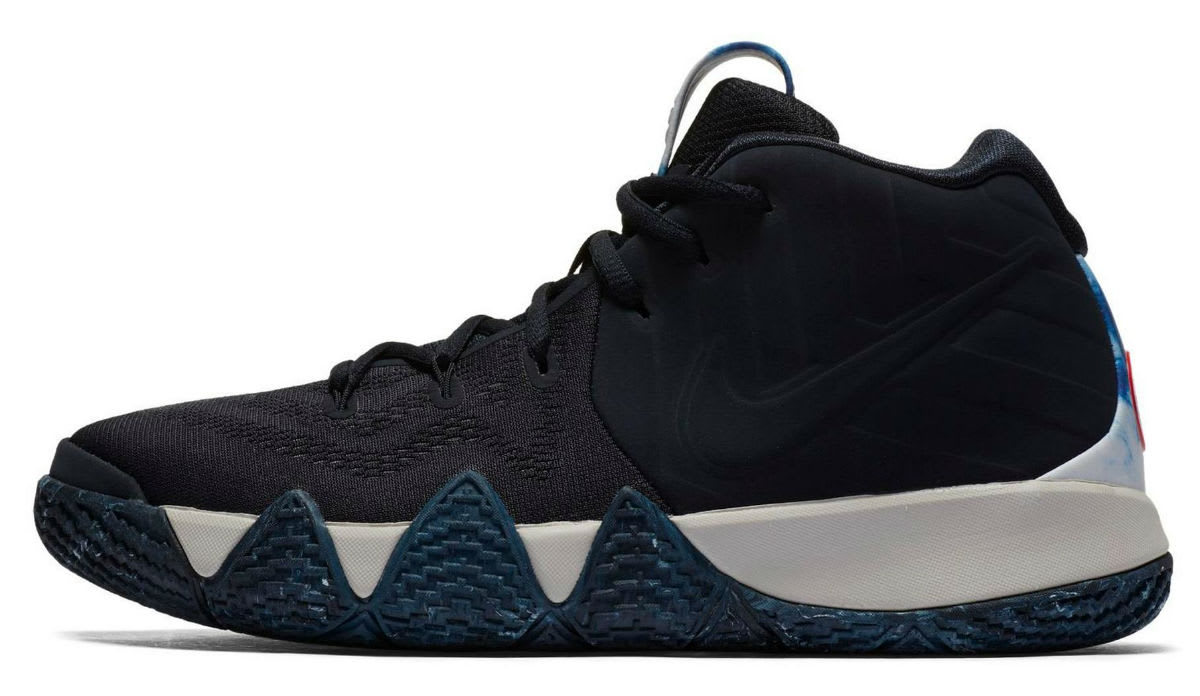 Nike N7 Kyrie 4 GS Release Left Profile