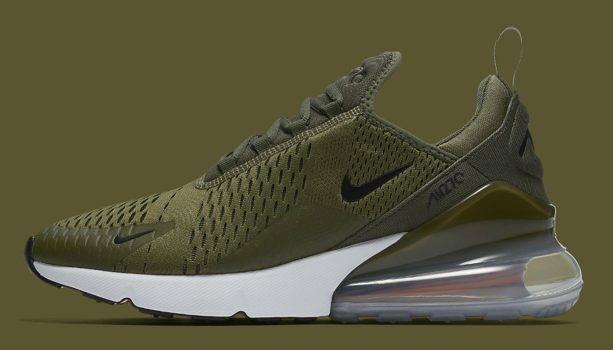 nike air max 270 olive release date ah8050 201 sole. Black Bedroom Furniture Sets. Home Design Ideas