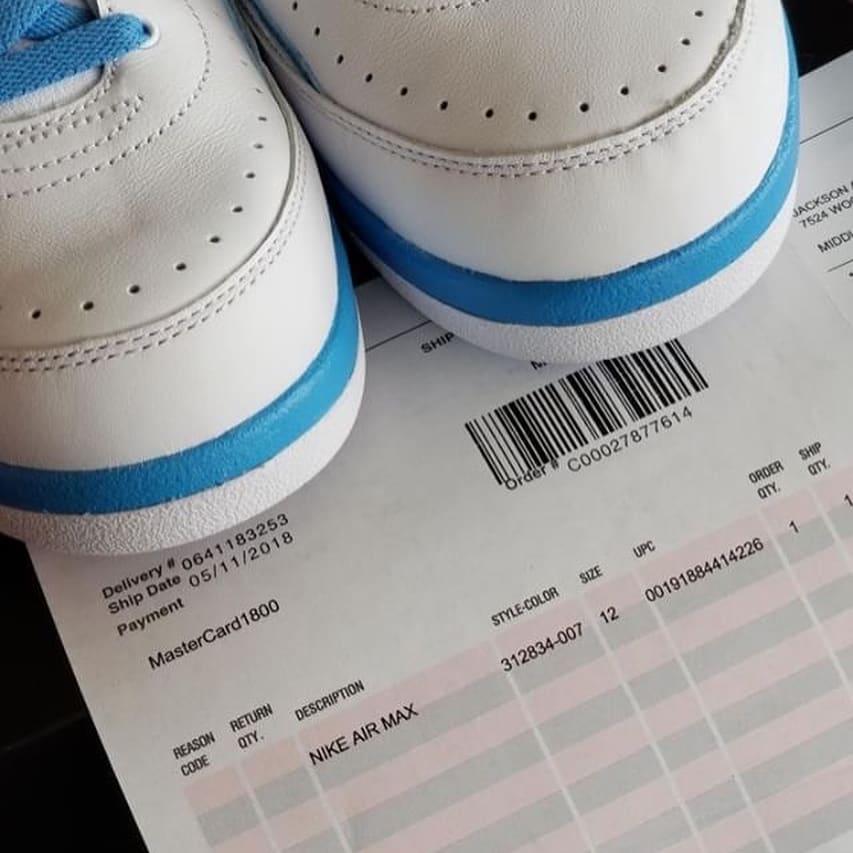 Air Jordan  2 II Melo 2018 Release Date 385475-122 Toe