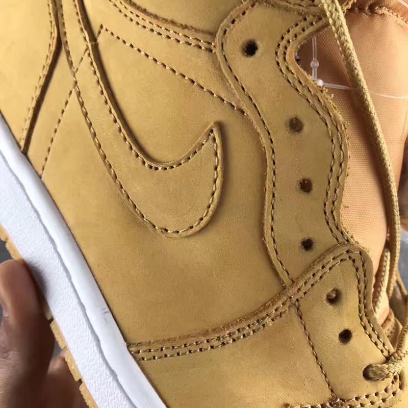 Air Jordan 1 High Golden Harvest Wheat Release Date 555088-710 (5)