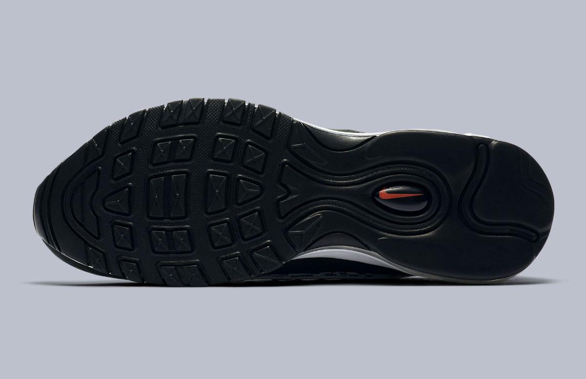 Nike Air Max 98 AOP White Team Orange Black Release Date AQ4130-100 Sole