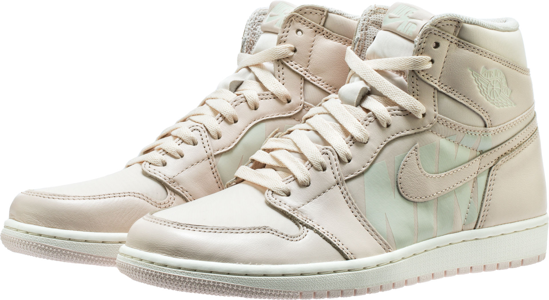 Air Jordan 1 High Guava Ice Sail Release Date 555088-801 Front