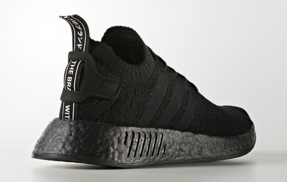 3d2100ed9 adidas nmd r2 womens triple black the new adidas yeezy shoes ...